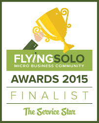 Flying Solo Small Business Awards National Finalist 2015